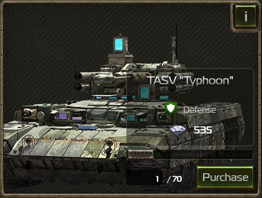 "TASV ""Typhoon"" as seen in the Black Market"