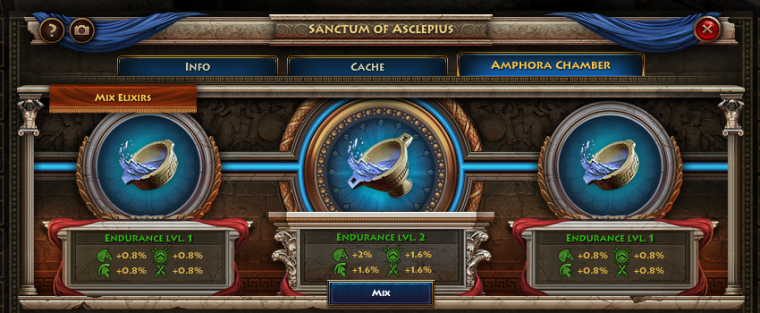 Sanctum of Asclepius Amphora Chamber Tab
